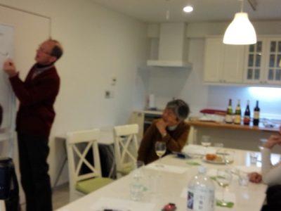 ワインの中のアロマを見つけるセミナー終了しました